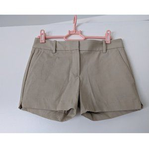 NEW Theory beige shorts